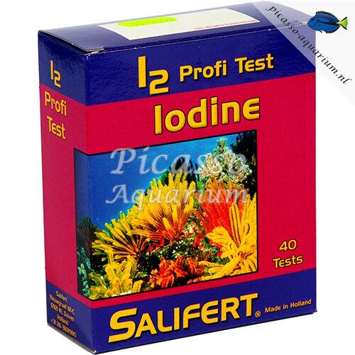 Jodium I2 test